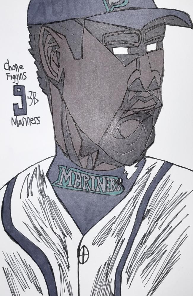 Chone Figgins by armattock